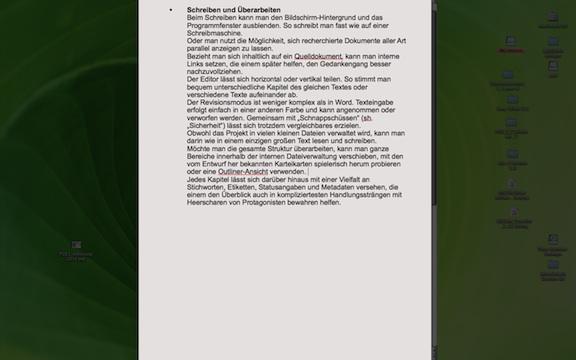 Ablenkung adjeu: Der Schreimaschienen-Modus.